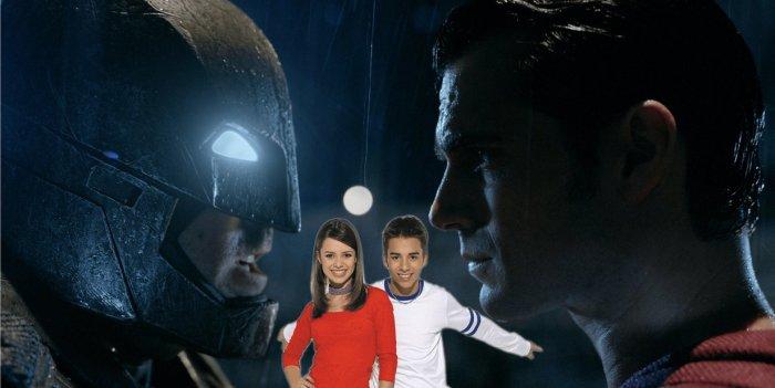Batman vs Superman: roteiro inspirado em Sandy e Júnior?Sim!